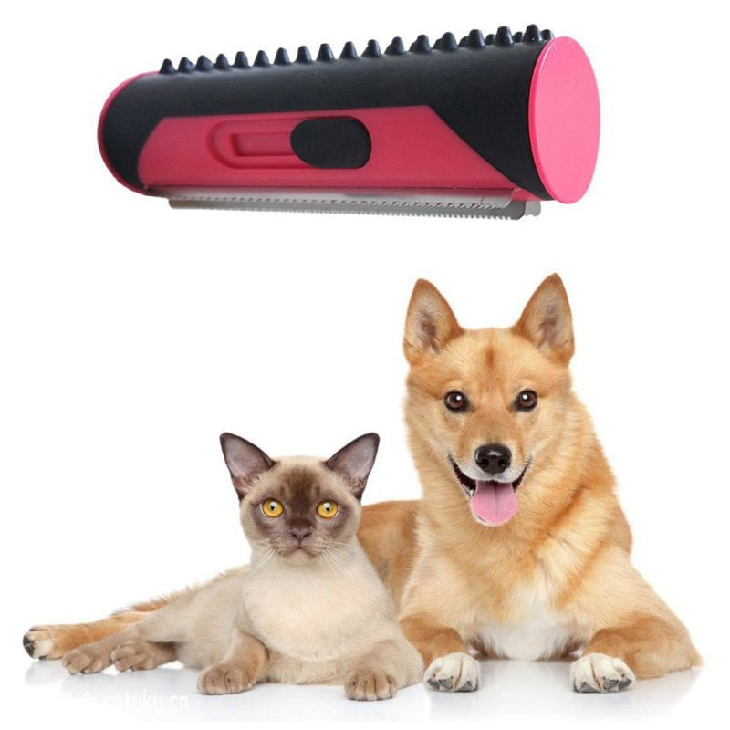 Pet Hair Removal Brush For Dogs And Cats