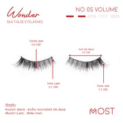 WONDER SILK FALSE EYELASHES NO.05