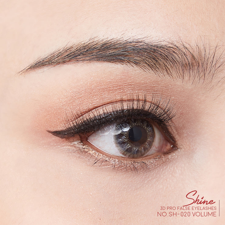 SHINE 3D PRO FALSE FALSE EYELASHES NO.19