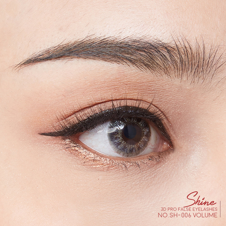 SHINE 3D PRO FALSE FALSE EYELASHES NO.06