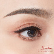 SPARKLE 6D MINK FALSE EYELASHES NO.09(แพค3คู่)