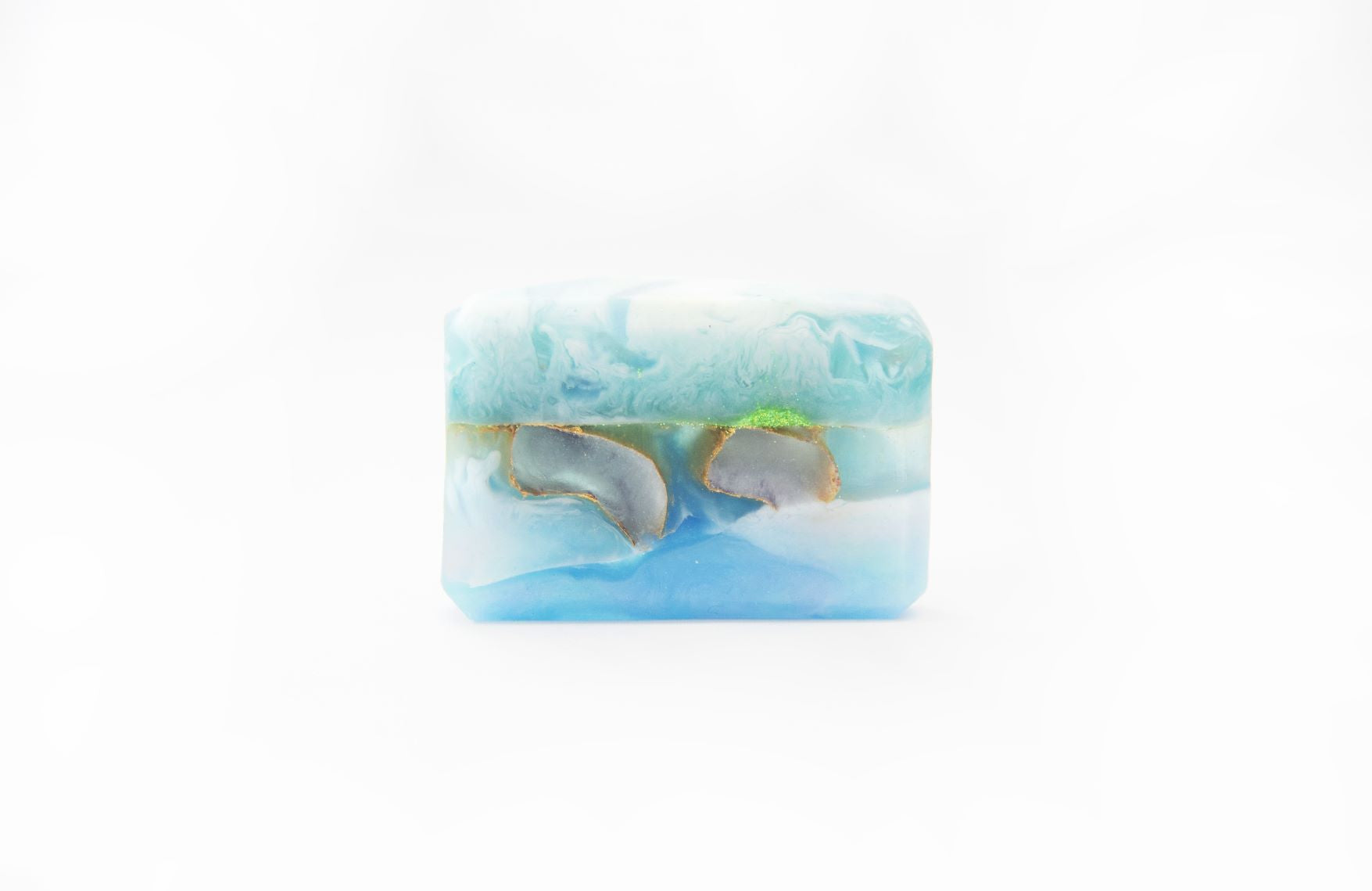 Blue Rock-Art Soap