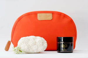 Body Butter, Floral Soap and Canvas Wash Bag Gift Set