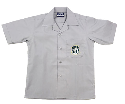 Sherwood Grange S/S Boys Grey Shirt