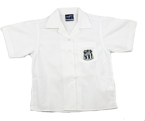 Sherwood Grange S/S Girls White Shirt