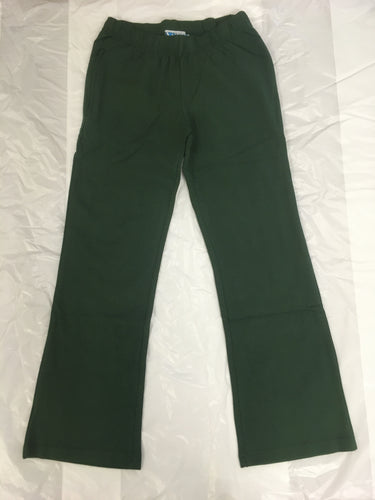 LWR Bottle Green Forlonge Girls' Stretch Bootleg Pants