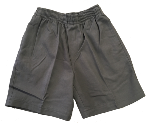 CR9910 Full Elastic Grey Shorts