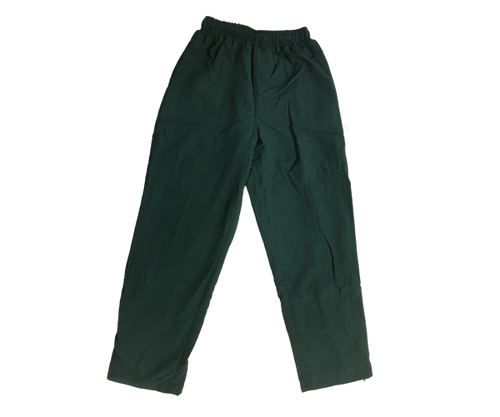 Bottle Green Microfibre Track Pants