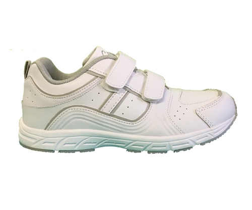Grosby - Heist Sports Shoes (White/Silver)