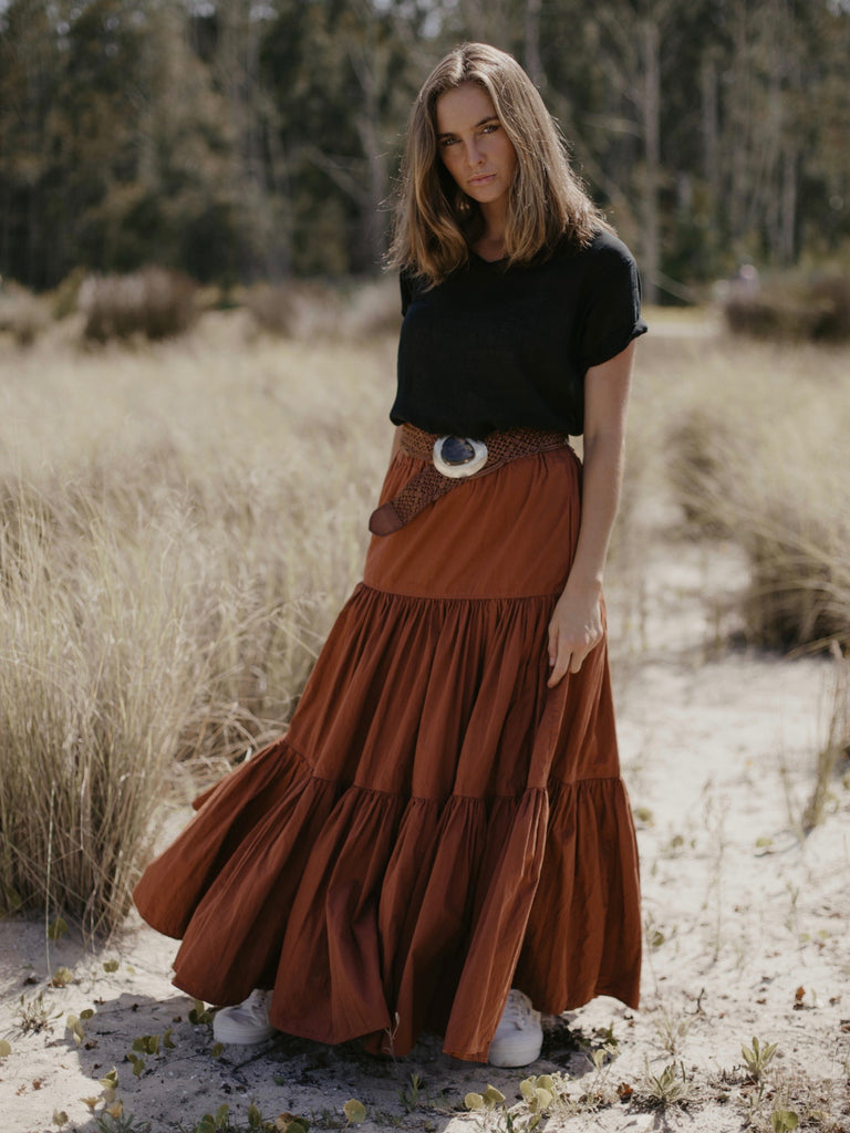 THE PRAIRIE SKIRT- 6 COLOURS