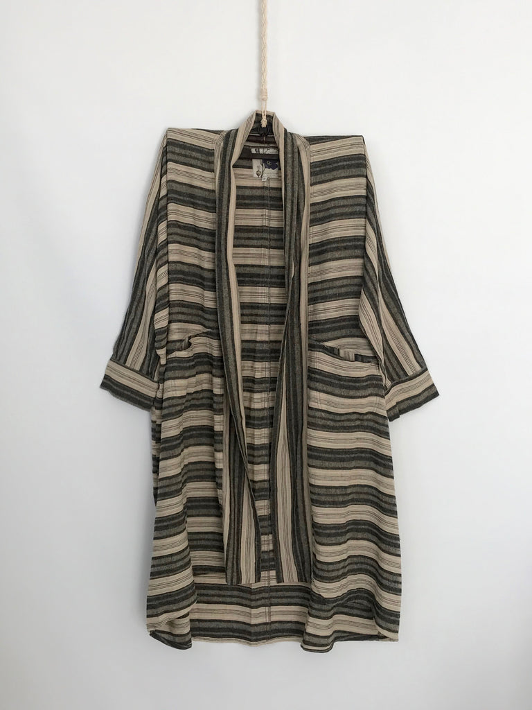 ESTELLE COAT- STRIPED
