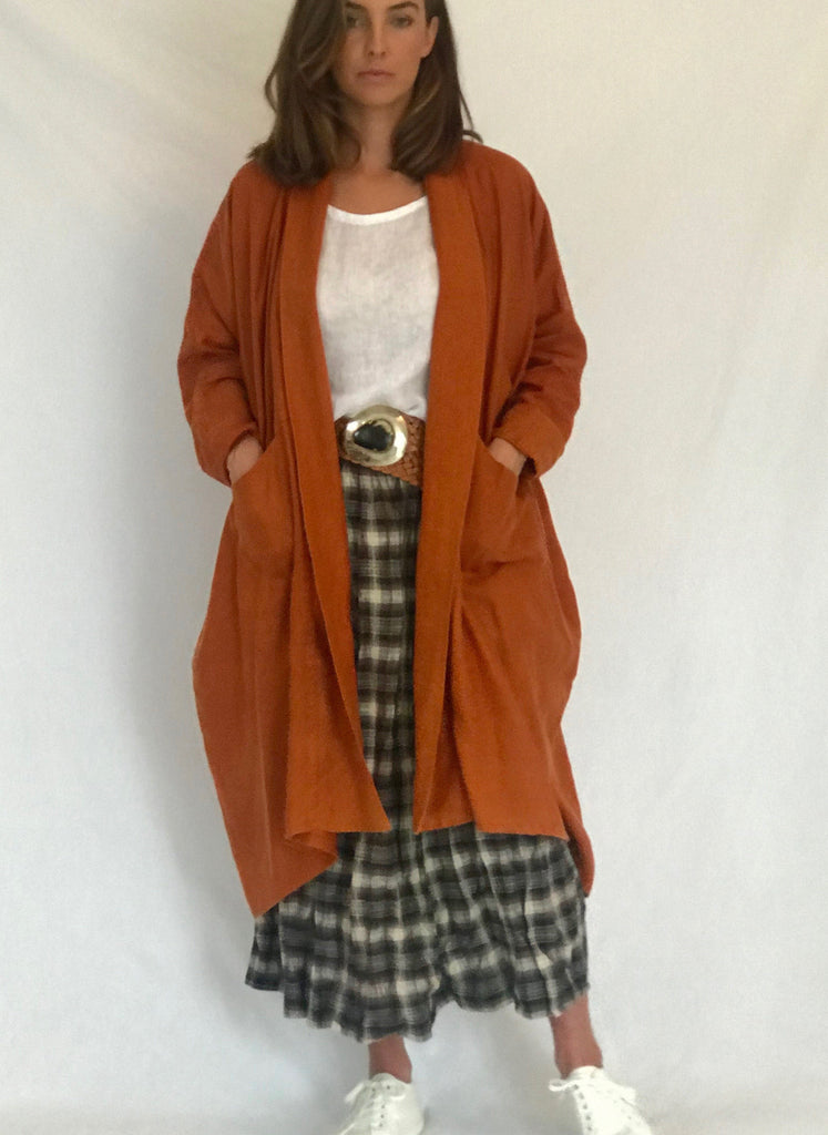 ESTELLE  LINEN COAT - 3 Colours