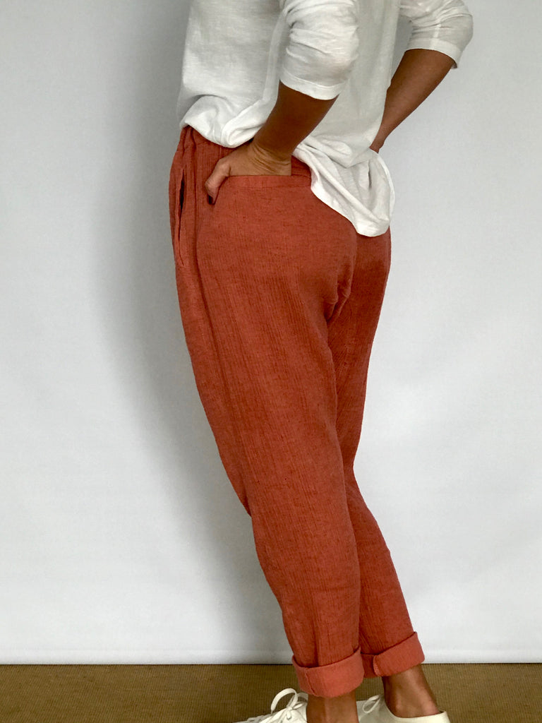 FLEUR LINEN PANTS - LONG- 4 COLOURS
