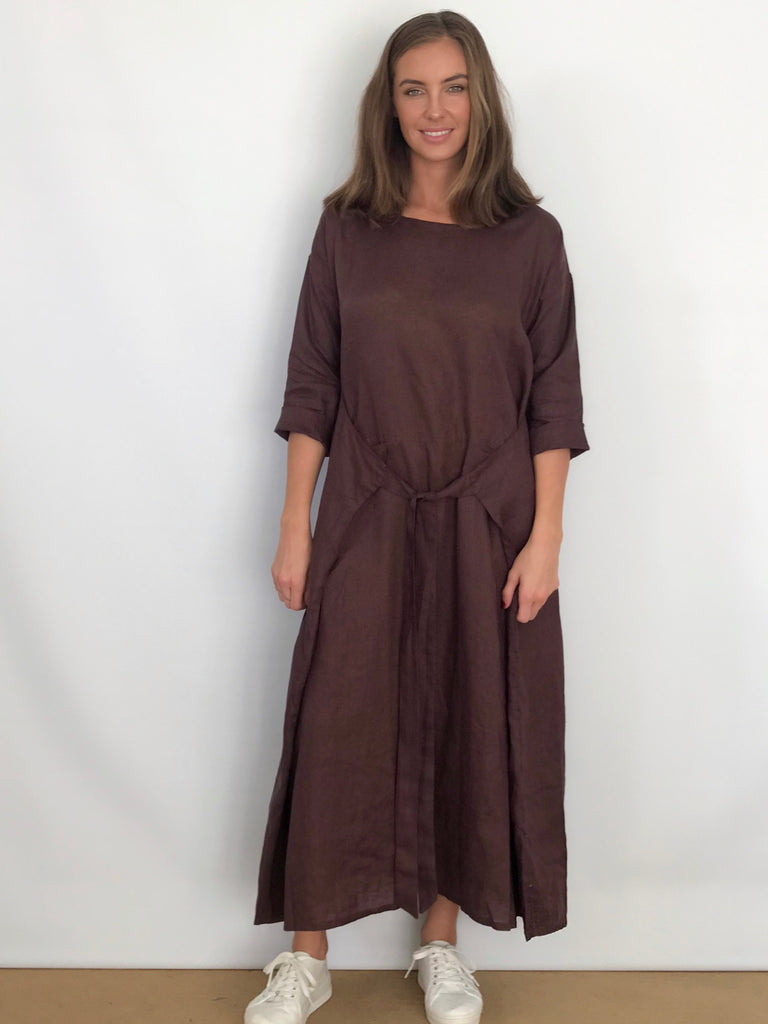 KYOTO LINEN DRESS - 5 COLOURS