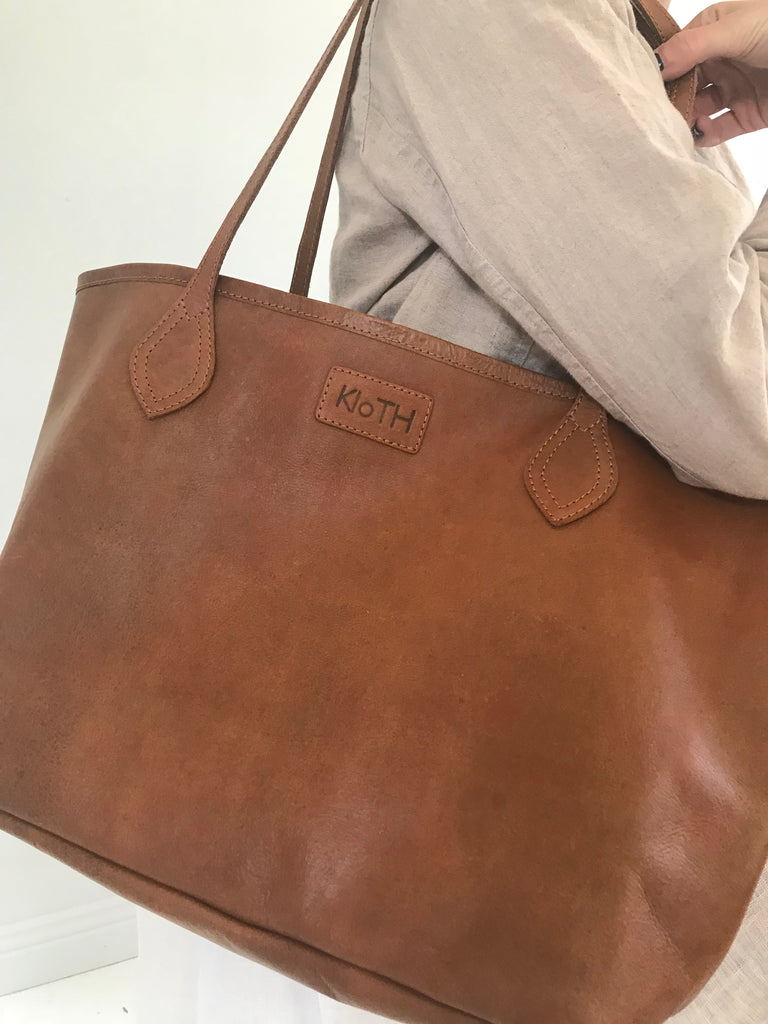 KLOTH LEATHER TOTE
