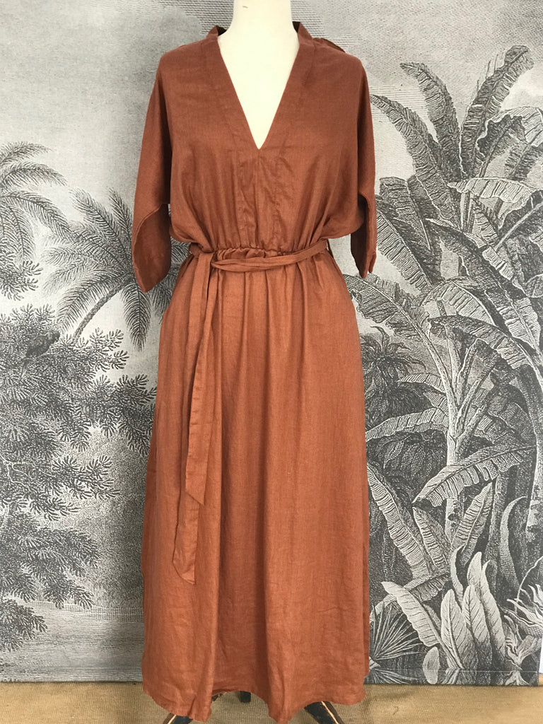 CHLOE LINEN DRESS - 5 COLOURS