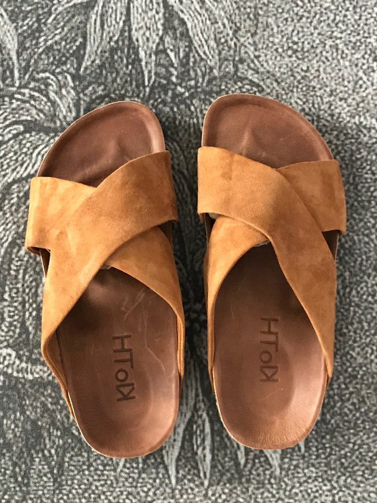 JASSE SUEDE SLIDE- 2 COLOURS