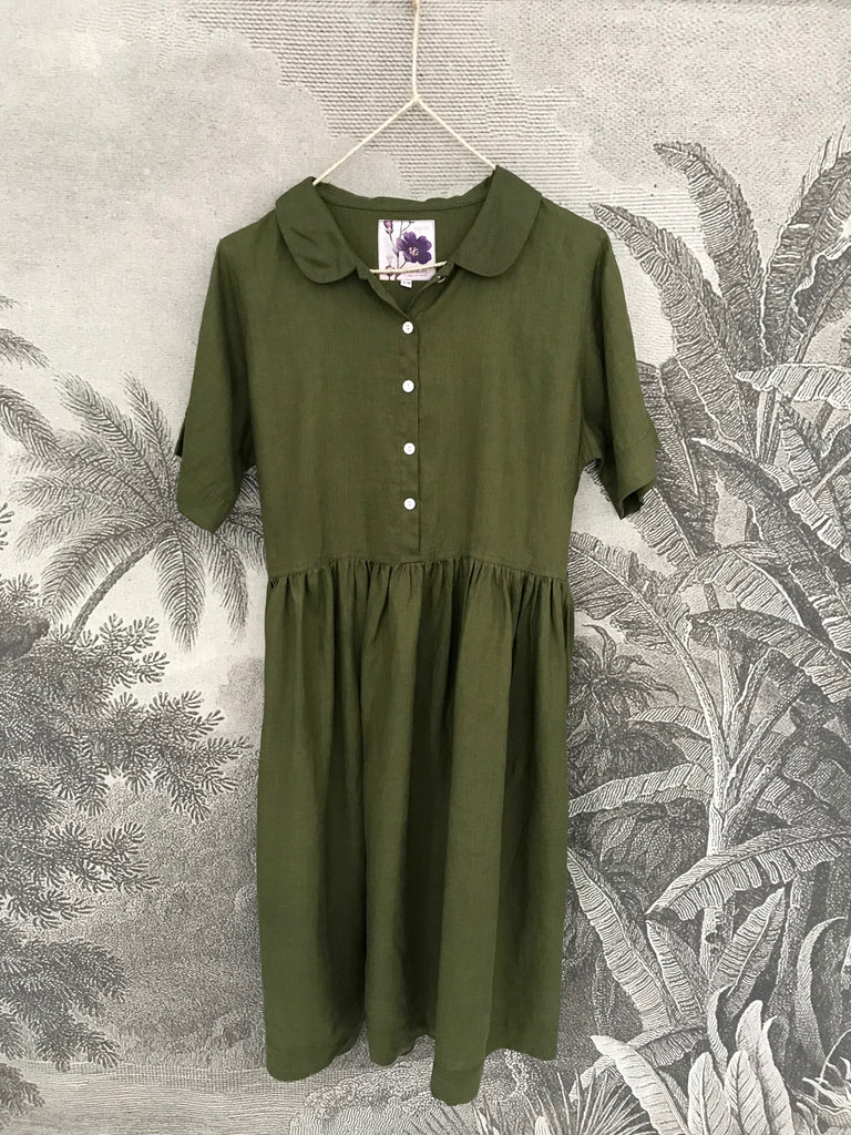 MIA LINEN DRESS - 4 Colours