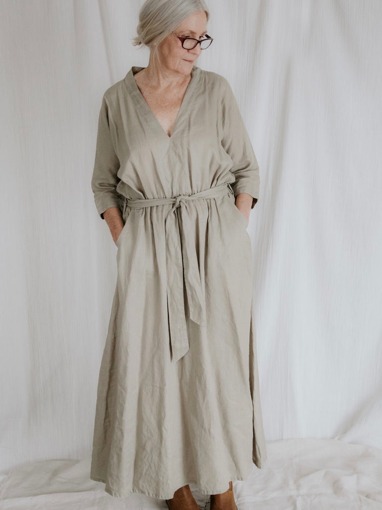 THE CAPRI LINEN DRESS - 5 COLOURS