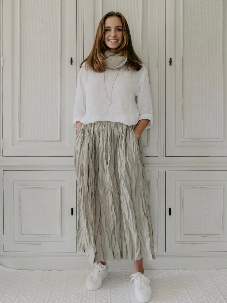 LAYLA LINEN SKIRT - MAXI - 6 colours
