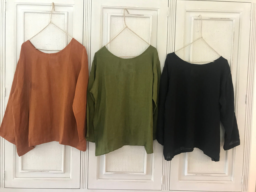 SARA BLOUSE- 8 colours