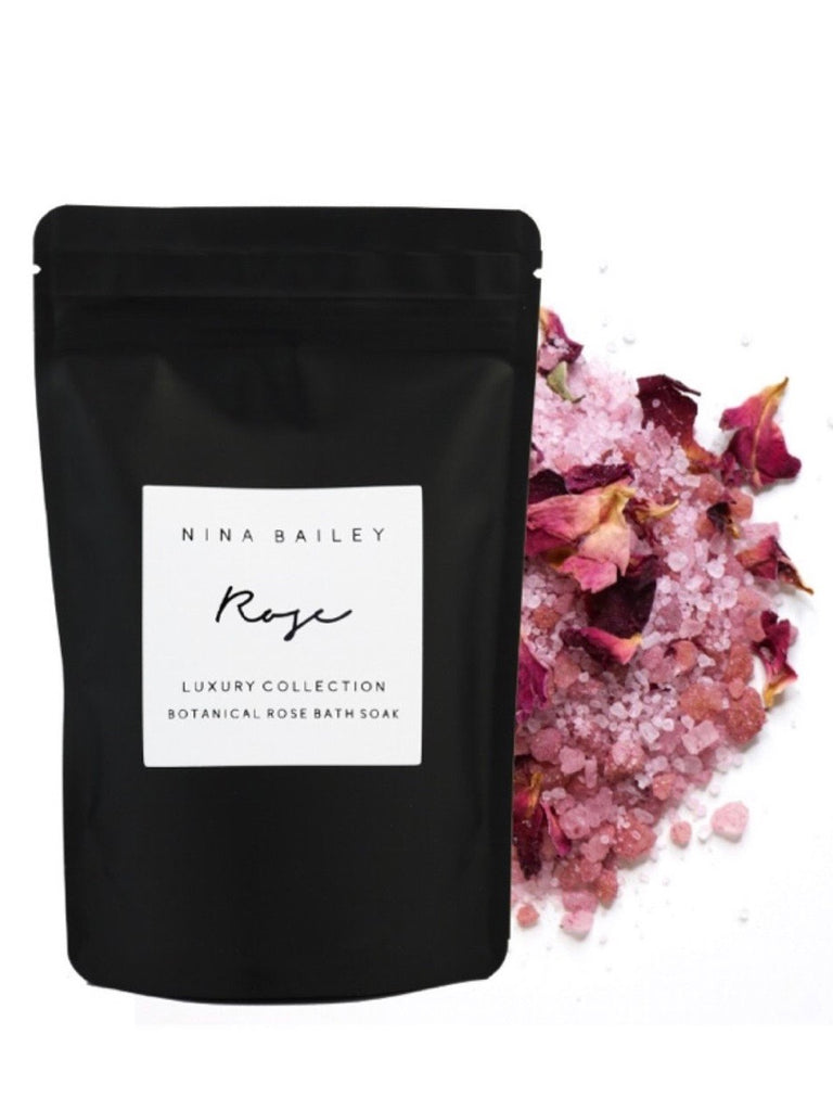 Rose Botanical Bath Soak Sachet