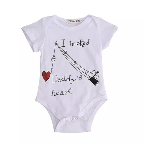 Daddy's Heart Romper