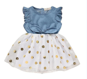 Polkadot Princess Dress