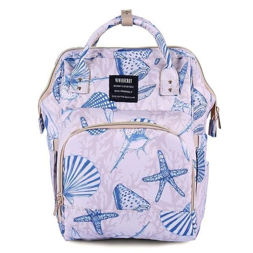 Seashell Magic Nappy Bag