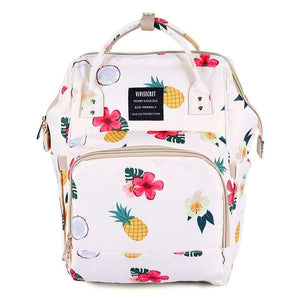 Tropical Pineapple Nappy Bag
