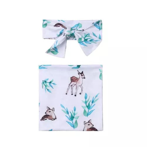 Delicate Deer Wrap Set