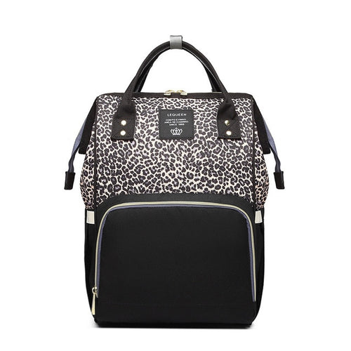 Luxurious Leopard Nappy Bag