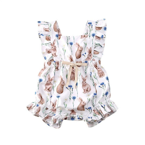 Ruby Rabbit Romper