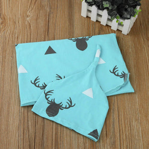 Deer Little Poppet Muslin Wrap Set