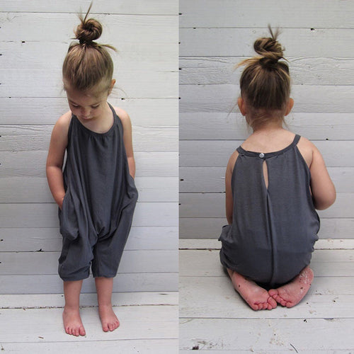 Weekend Boho Girls Romper