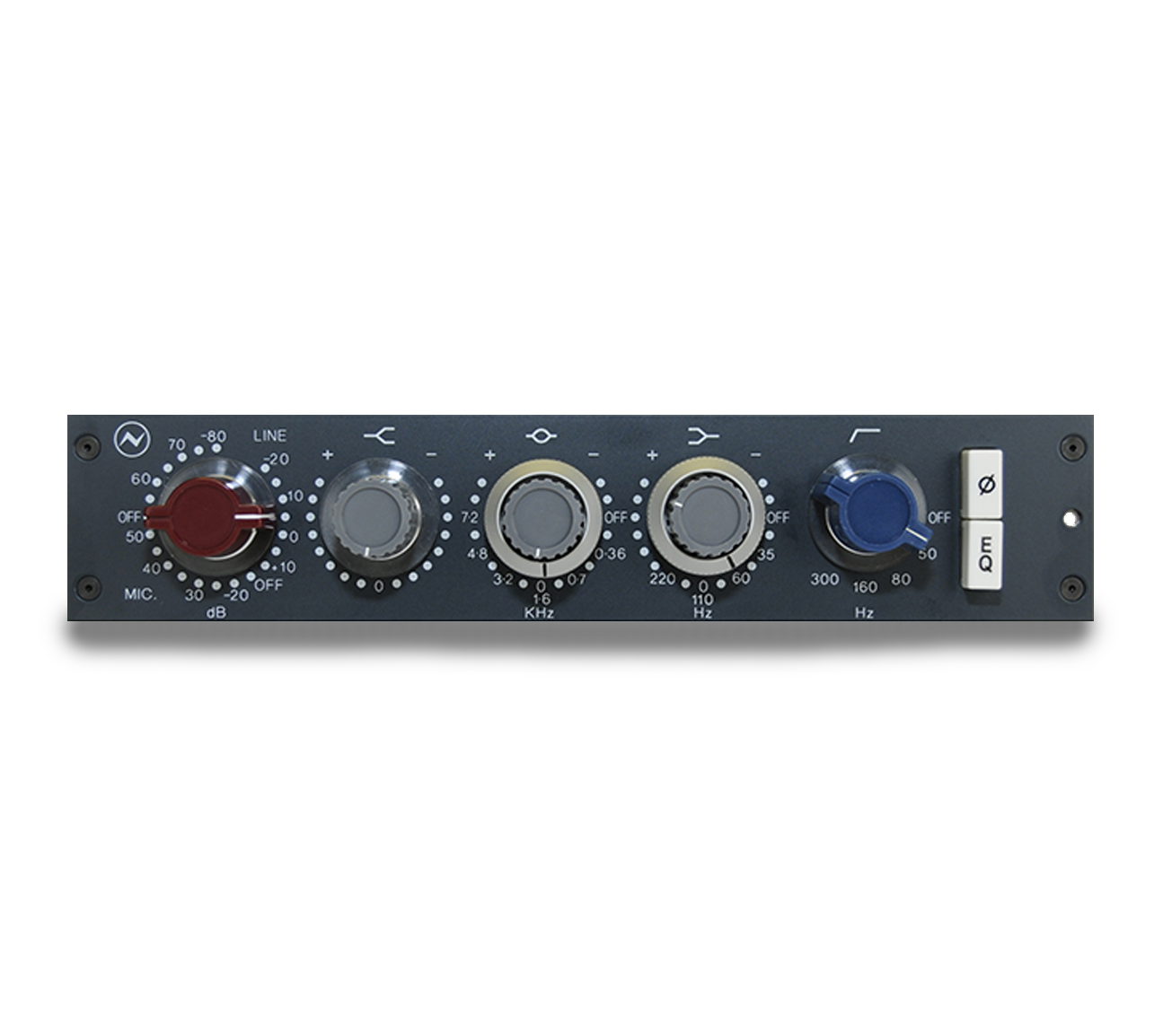 1073N Standalone Mono MicPreamp & EQ