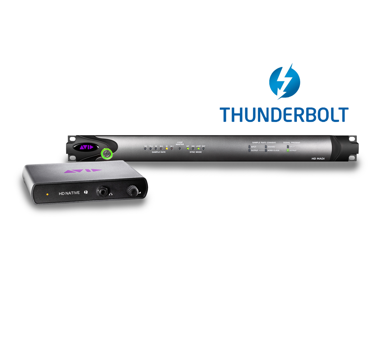 Paquete Avid HD Native Thunderbolt + Pro Tools HD + I/O