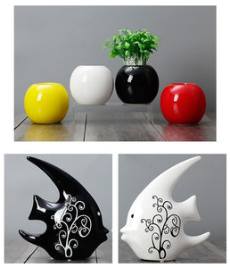 Modern Statue Ceramic Ornaments