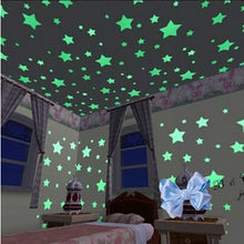 Glow in the Dark Stars Wall Stickers