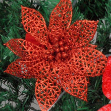 Poinsettia Christmas Decor