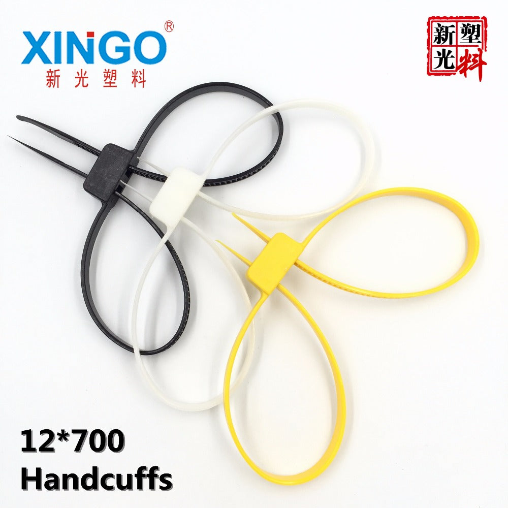 Flexible and Disposable Handcuffs