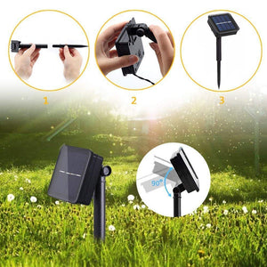 Garland Solar Garden Waterproof Lights