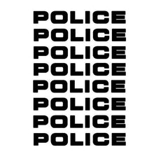 Police Car Stickers