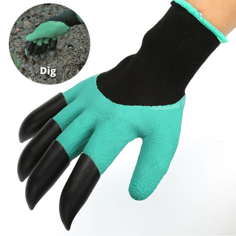 Garden Gloves with Plastic Claws