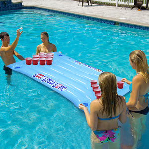Inflatable Beer Pong Mattress