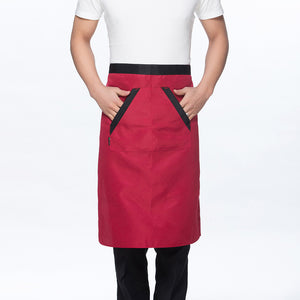 Oblique Collar Chef Jacket