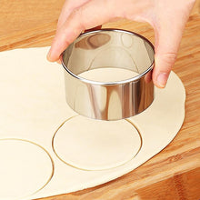 Stainless Steel Round Dough Cutter Set