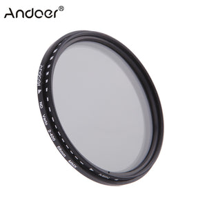 Adjustable ND2 to ND400 Variable Filter