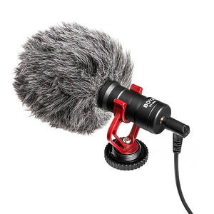 Compact On-Camera Video Microphone