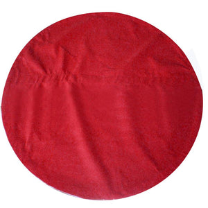 Santa's Costume Round Tablecloth